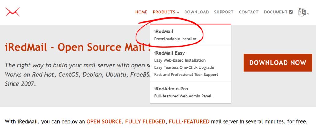 download-iredmail