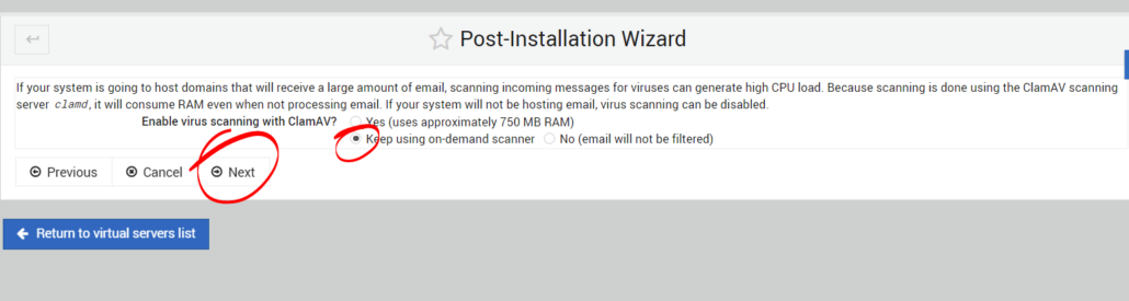 virtualmin-post-installation-wizard