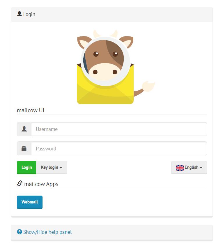 mailcow-admin-login-window