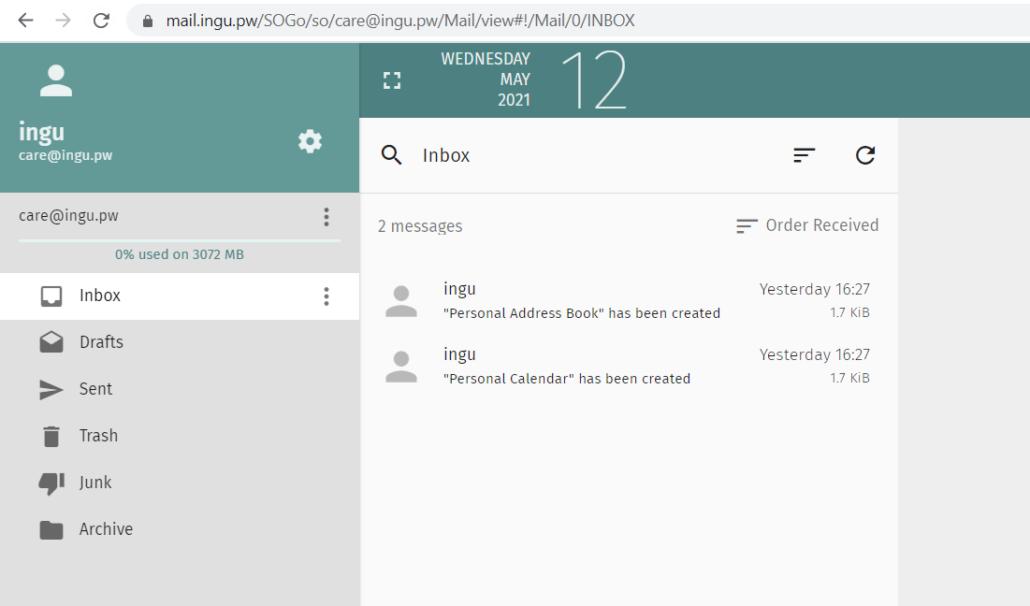 mailcow-webmail-dashboard