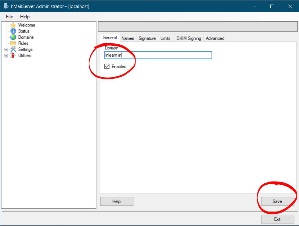 create-mailserver-hmailserver